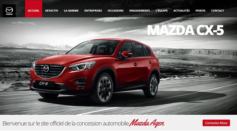 MAZDA AGEN – Concession Mazda à Agen