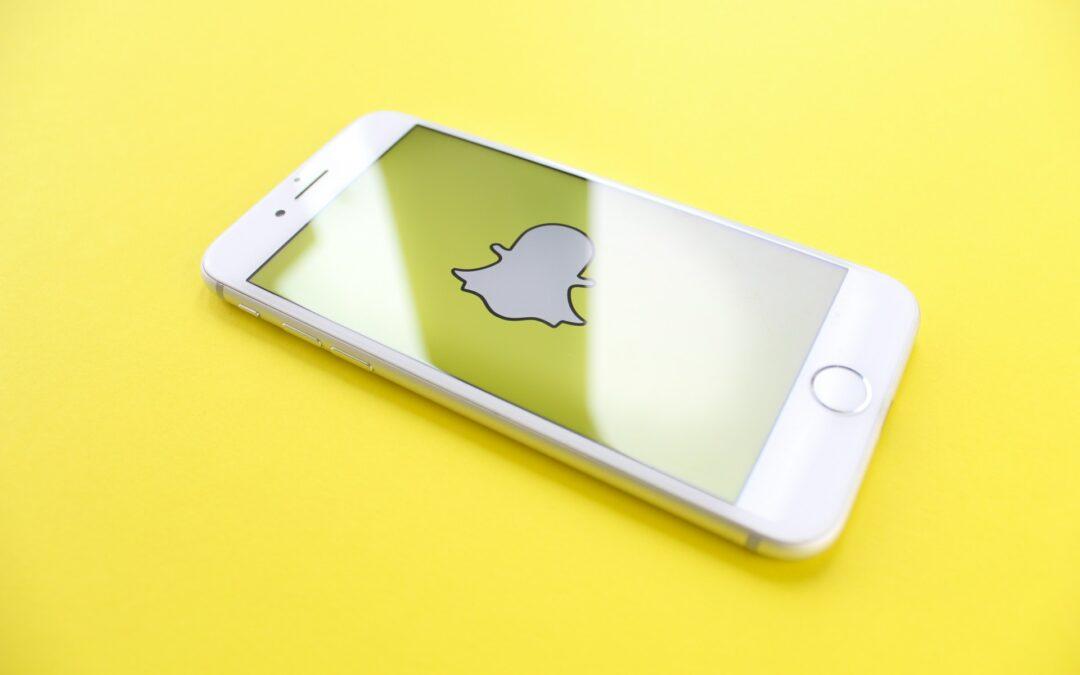 La publicité sur Snapchat